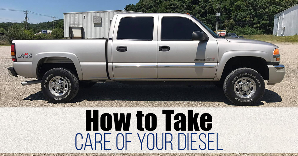 How to Take Care of Your Diesel