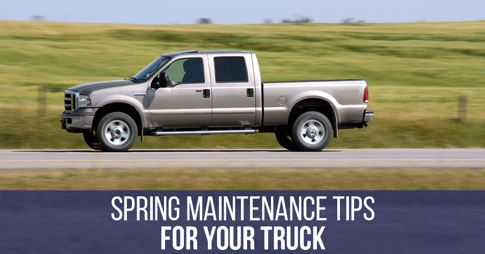 Spring Maintenance Tips for Your Truck