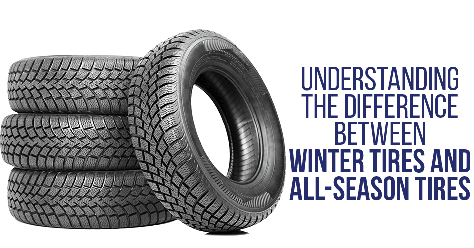 Understanding the Difference Between Winter Tires and All-Season Tires
