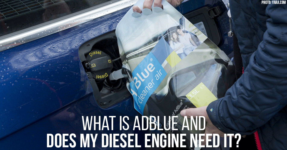 What is AdBlue and Does My Diesel Engine Need It?